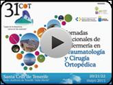 Video Presentación 31 Jornadas Nacionales de Enfermería en Traumatología y Cirugía Ortopédica