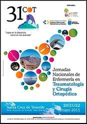 31 Jornadas Nacionales de Enfermería en Traumatología y Cirugía Ortopédica