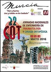 32 Jornadas Nacionales de Enfermería en Traumatología y Cirugía Ortopédica